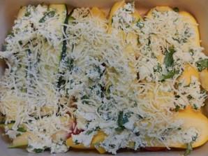Лазанья с кабачками и помидорами - фото шаг 4
