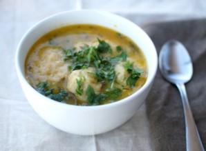 Суп с кнедликами - фото шаг 8