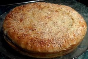 Пирог с горбушей консервированной - фото шаг 16
