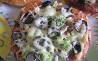 Детская пицца - фото шаг 7
