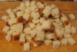 Cухарики с сыром - фото шаг 2