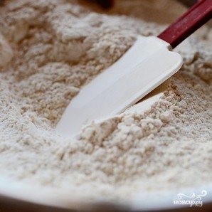 Блины с черным рисом - фото шаг 2