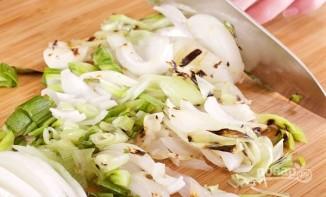 Курица на гриле с овощами и соусом барбекю - фото шаг 10