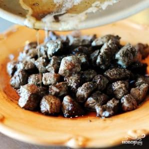 Жареная говядина традиционная - фото шаг 7