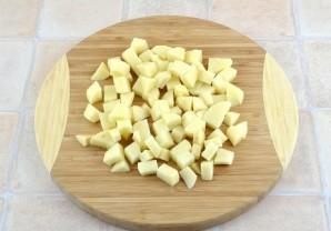 Грибной суп с сырками - фото шаг 4