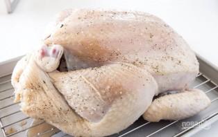Запеченная курица с хрустящей корочкой - фото шаг 7