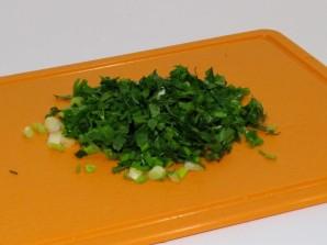 Салат в блинах - фото шаг 3