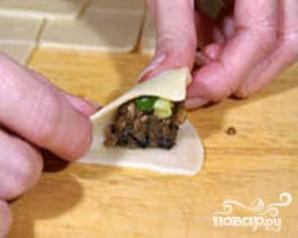 Кундюмы с грибами - фото шаг 5