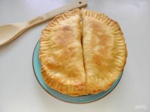 Манзари (пирожки с творогом и зеленью) - фото шаг 8