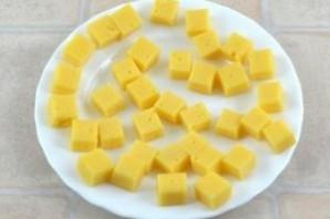 Канапе с ананасом - фото шаг 1
