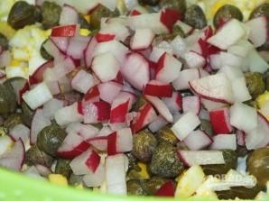 Салат из вареных яиц - фото шаг 3