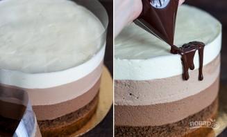 Торт шоколадно-муссовый - фото шаг 19
