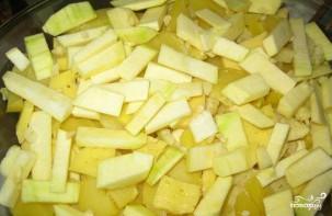 Картофельная запеканка с кабачками - фото шаг 2