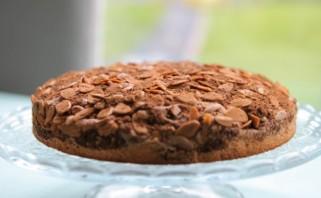Бисквит с кофе и миндалем - фото шаг 7