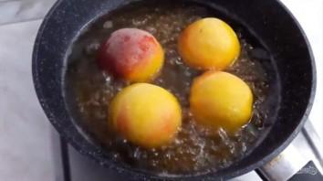 Вкусный десерт из персиков - фото шаг 3
