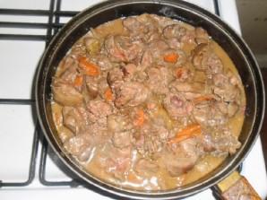 Паштет из куриной печени с овощами - фото шаг 11