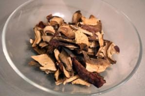 Паста с белыми грибами в сливочном соусе - фото шаг 1