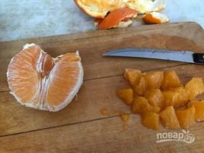 Постный салат с апельсином - фото шаг 4