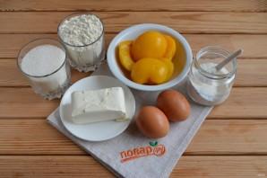 Персиковый пирог - фото шаг 1