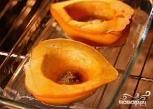 Яблочно-луковая запеканка в сквоше - фото шаг 1