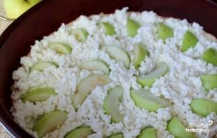 Овсяный пирог с творогом и яблоками - фото шаг 7