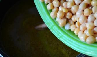 Суп с нутом и вермишелью - фото шаг 4
