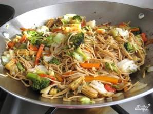 Лапша с овощами по-китайски - фото шаг 12
