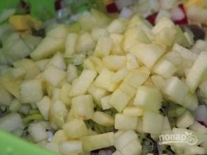 Салат из вареных яиц - фото шаг 5