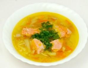 Суп из форели в мультиварке - фото шаг 8