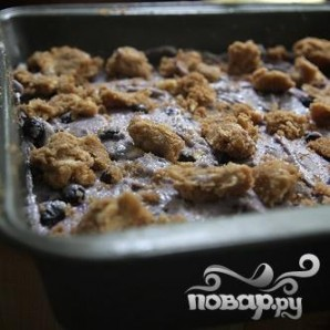 Черничный пирог с йогуртом - фото шаг 6