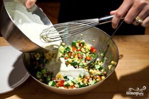Салат из сладкой кукурузы - фото шаг 9