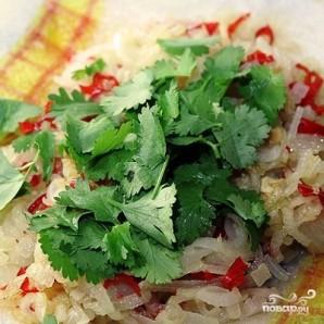 Тайский салат из яиц - фото шаг 9
