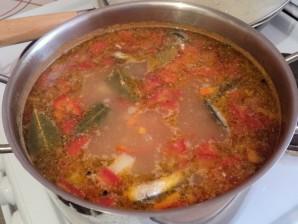 Суп из консервы кильки - фото шаг 7