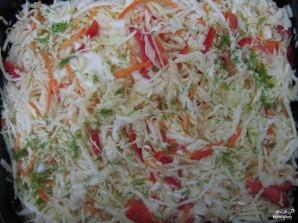 Морковь по-корейски с капустой - фото шаг 7