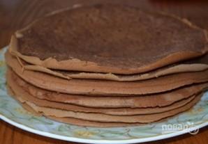 """Торт """"Минутка"""" на сковороде - фото шаг 9"""