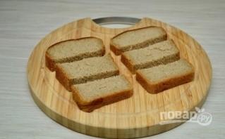 Рецепт гренок с чесноком и сыром - фото шаг 1