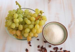 Виноград в сиропе - фото шаг 1