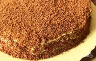 """Торт на кефире """"Черный принц"""" - фото шаг 8"""