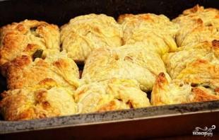 Слоеные пирожки с овощной начинкой - фото шаг 5