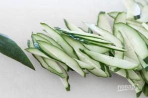 Пикантный крабовый салат - фото шаг 1