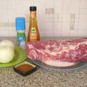 Шашлык из свинины в уксусе - фото шаг 1