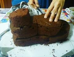 "Торт ""Кеды"" - фото шаг 3"