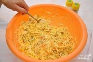 Картофельная запеканка с мясными шариками - фото шаг 8