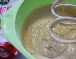 Яблочный кекс в мультиварке - фото шаг 2