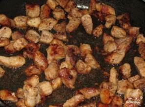 Свинина со свежими грибами - фото шаг 1