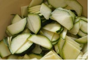 Салат по-корейски из кабачков - фото шаг 1