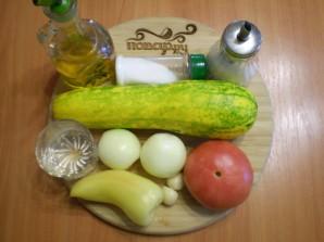 Кабачковая икра с томатами на зиму - фото шаг 1