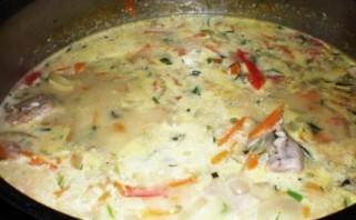 Индейка, тушеная с овощами - фото шаг 2