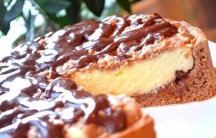 Творожный пирог с вареньем - фото шаг 10