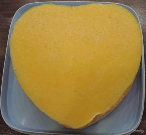 Чизкейк с персиками - фото шаг 19